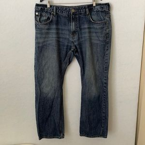 Buffalo Lightly Distressed Spencer Slim Jeans